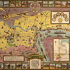 Map of Shanghai 1935 by AndrewFare