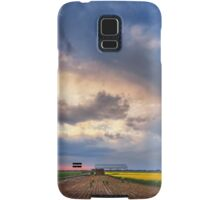 Shed with Canola Samsung Galaxy Case/Skin