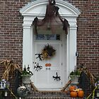 Halloween Door 88 by Larry Lingard-Davis