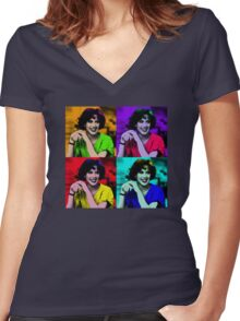 Molly Ringwald Women's Fitted V-Neck T-Shirt