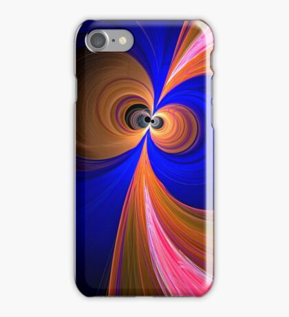 Colourful retro circles iPhone Case/Skin