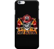 Fireman Skull 7 iPhone Case/Skin