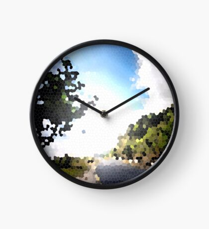 Out in the Serenity of nature Clock