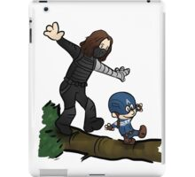 Steve and Bucky iPad Case/Skin