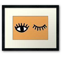 wink Framed Print
