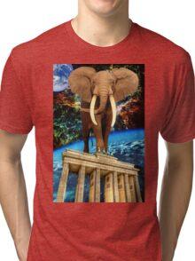 space elephant Tri-blend T-Shirt