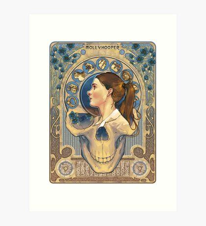 Molly Hooper Art Nouveau Art Print