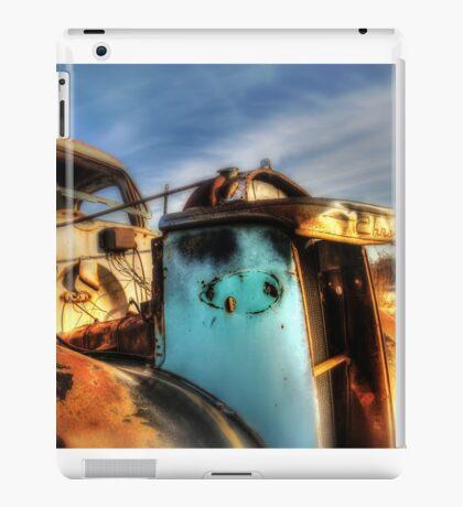Old Truck in the Mojave Desert iPad Case/Skin
