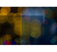 Abstract Bokeh Lights VI Photographic Print