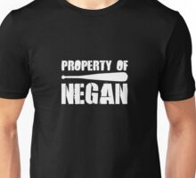 Walking Dead Property of Negan Unisex T-Shirt