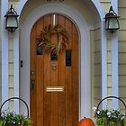 Halloween Door 508 by Larry Lingard-Davis