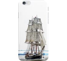 The Morgenster sailing up the Thames  iPhone Case/Skin