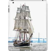 The Morgenster sailing up the Thames  iPad Case/Skin