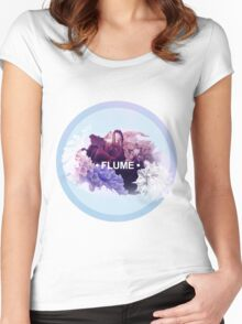 FLUME (2) Women's Fitted Scoop T-Shirt