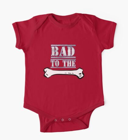 Bad To The Bone One Piece - Short Sleeve