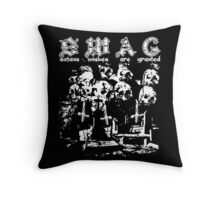 satan swag. Throw Pillow