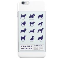 Vampire Weekend Contra Promotional Poster iPhone Case/Skin