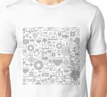 Background the computer Unisex T-Shirt