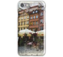 Warsaw Old town iPhone Case/Skin