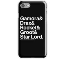 Guardians otG Jetset iPhone Case/Skin