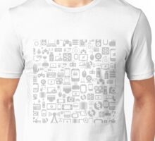 Background the computer3 Unisex T-Shirt