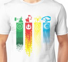 Avatar- Four Elements Unisex T-Shirt