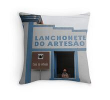 Lanch in Brasil  Throw Pillow