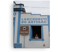 Lanch in Brasil  Canvas Print