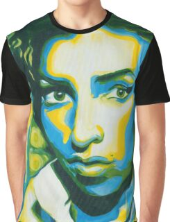 Amy Amy Amy Acrylic painting on Canvas by MISS DARQ Graphic T-Shirt