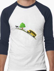 Struggle Bus Men's Baseball ¾ T-Shirt
