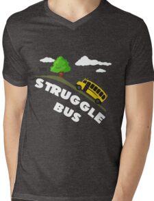 Struggle Bus Mens V-Neck T-Shirt