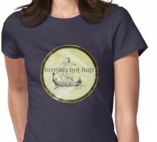 Viking Pride: Heritage Not Hate Womens Fitted T-Shirt