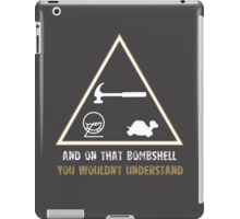 Exclusive Hamster, Jezza, and Captain Slow T-Shirt iPad Case/Skin