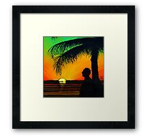 The Duke's Sunset Farewell Framed Print