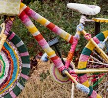 The Knitted Bike Sticker