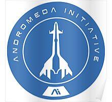 Mass Effect Andromeda Logo Poster