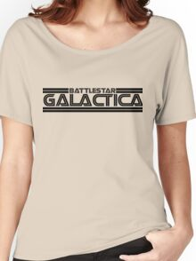Battlestar Galactica Logo Women's Relaxed Fit T-Shirt