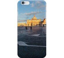 St. Peter's Square & Basillica, Vatican City iPhone Case/Skin