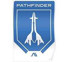 Mass Effect Andromeda Logo (Blue) Poster