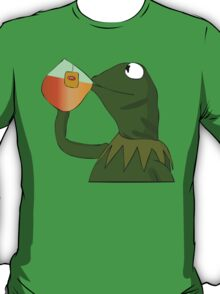 Kermit sipping tea T-Shirt