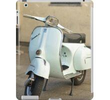 Vespa white Classic iPad Case/Skin