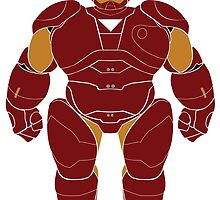 Baymax (Iron Man Armored) by Ztw1217