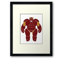 Baymax (Iron Man Armored) Framed Print