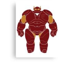 Baymax (Iron Man Armored) Canvas Print