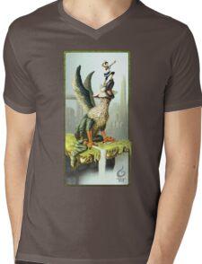 The Last Guardian V.1 Mens V-Neck T-Shirt