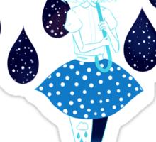 umbrella girl Sticker
