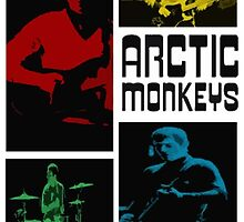 Arctic Monkeys Live at the Apollo by gbutz