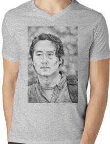 Glenn Rhee Mens V-Neck T-Shirt