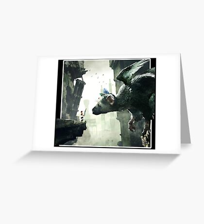 The Last Guardian V.2 Greeting Card