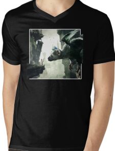 The Last Guardian V.2 Mens V-Neck T-Shirt